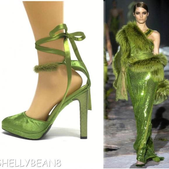 30a290a19 Gucci Shoes | Tom Ford Velvet Pumps Heels Mink Strap 9 Nib | Poshmark
